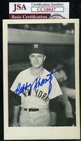 Bobby Shantz Jsa Coa Autograph Yankees Photo  Hand Signed Authentic