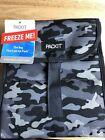 Packit Freezable Lunch Bag Top Closure BLACK & GRAY Camo Frozen Gel Stay Cold