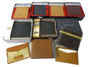 WHOLE SALES LOT MEN'S WALLET MIXED BRAND MIXED STYLE 10 Piece New