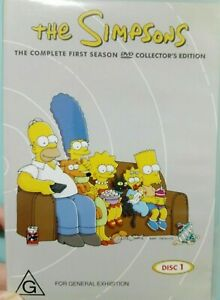 The Simpsons, Season 1 DVD, *discs 1 and 2 only*, FREE postage!