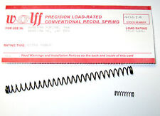 """WOLFF™ 14 LBS REPLACEMENT RECOIL SPRING for BERETTA 92 FS/B 9mm  """"Extra Power"""""""
