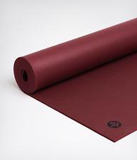 VERVE RED EX LONG MANDUKA BLACK PRO 6MM Yoga Mat New 85X26 GUARANTEED 4 LIFE