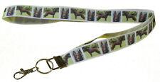 More details for australian kelpie breed of dog lanyard key card holder perfect gift