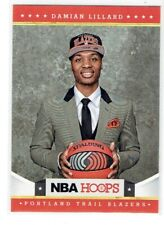 2012-13 Damian Lillard NBA Hoops ROOKIE Card-Trail Blazers
