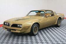 1978 Pontiac Trans Am SOLAR GOLD T-TOPS FACTORY A/C WINDOW STICKER