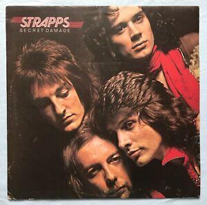 STRAPPS - SECRET DAMAGE - UK 1st press Harvest LP