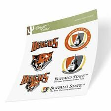 Buffalo State College SUNY Bengals Sticker (Type 2 Sheet)