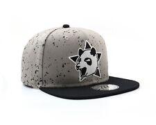 True Heads Snapback Panda Bear Grey Baseball Cap