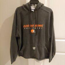Cleveland Browns NFL TEAM APPAREL Helmet Logo Hoodie Mens reebok