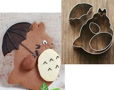 TOTORO & Ombrello Cookie Cutter Decorazione Torte Biscotti Stampo Set giappone kawaii