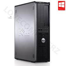 Cheap Dell Desktop PC Windows 10 Computer Core 2 Duo Tower 4GB RAM 160GB