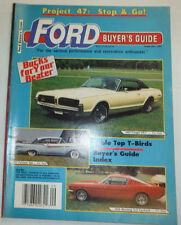 Ford Buyer's Guide Magazine Table Top T-Birds September 1990 031215R2
