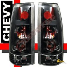 88-98 Chevy GMC C/K C10 1500 2500 3500 Truck Silverado Sierra Black Tail Lights