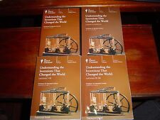 THE GREAT COURSES Understanding the Inventions that Changed the World 6 DVD SET