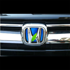 For HONDA 2017-2018 CRV CR-V Auto Car Front Logo Badges H Emblems Blue