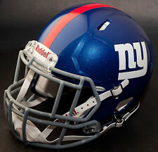 NEW YORK GIANTS NFL Gameday REPLICA Football Helmet w/ S2EG-II-SP Facemask