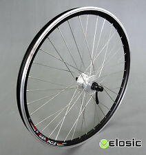 26 Zoll Vorderrad SHIMANO Nabendynamo breite Hohlkammerfelge E-Bike Pedelec