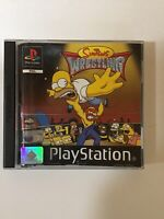 The Simpsons Wrestling (Sony PlayStation 1, 2001) - PAL PS1 Game - Complete