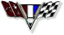 """1967 CAMARO """"V-FLAGS""""  FENDER  EMBLEM  ALSO OTHERS GM # 419  318"""