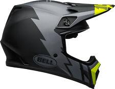 Bell MX-9 MIPS Strike Matte Gray/Black/Hi-Viz