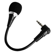 Studio For Laptop PC Small Mobile Phone Desktop Microphone Black Plug Mini Mic
