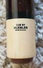 New listing Vintage Huebler Pool Cue Great Playing Wrapless Widow