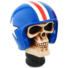 Gear shift knob skull baseball cap skelecton car gear knob universal 5 6 speed