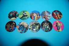 479 pogs pog caps milkcaps flippo : lot de 10 power rangers avimage