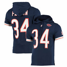 Chicago Bears Mitchell & Ness Walter Payton Short Sleeve Hoodie Hoody - Mens