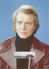 DAVID SOUL Signed 12x8 Photo Display STARSKY AND HUTCH COA