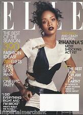 Elle magazine Rihanna Skin cream Gift fashion ideas Women artists Success tips