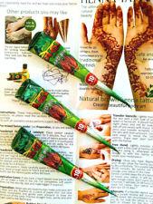 WHOLESALE PRICE ! NEHA AMAZING DARK BROWN Henna TATTOO BRIDAL Mehndi Cones G