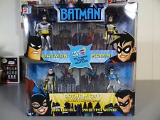 Batman Animated Series 4 Pack Gotham City