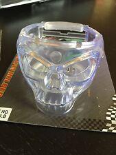 Glow In The Dark Skull Cup Holder Clip On AV Vents Apc Universal Fit