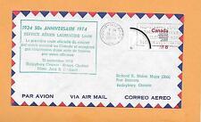 50th ANNIVER SERVICE AERIEN LAURENTIDE SEP 21,1974 ROUYN NORANDA