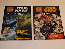 SDCC EXCLUSIVE STAR WARS THE YODA CHRONICLES COMICS BY LEGO lot of 2