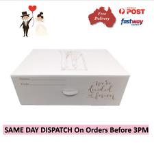 Wedding Dress Storage and Preservation Box Bridal Travel Tissue Bridesmaid Box