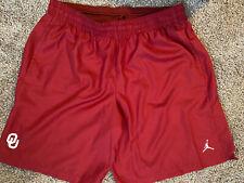 Nike Jordan OU Oklahoma Sooners Basketball Shorts Men's 3XL