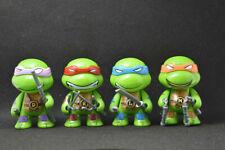 4 pcs Teenage Mutant Ninja Turtles Mini Action Figures Toy Gift TMNT Collection