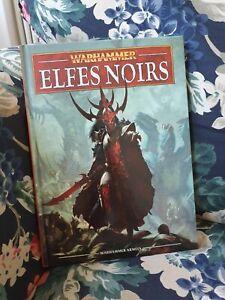 Livre d'armée Elfes Noirs WARHAMMER v8