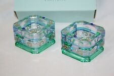 New PartyLite Mardi Gras Tealight Holders – Set of 2 – P7271 – New In Box!