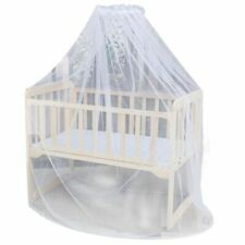 Toddler Canopy Mosquito Net Baby Bed Crib Netting Cover Lace Curtain Mesh Cot