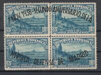 X800/ SPAIN – EDIFIL # 790 MINT BLOCK OF 4 – CV 155 $