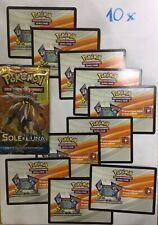 10 X POKEMON TCG Online Code Codice  SOLE E LUNA By Email
