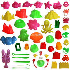 Activity Sand Art Kits Sand Molding Toys 46pcs Deluxe Kinetic Mold for Sands