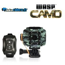 WASPcam 9906 CAMO Wi-Fi - Action Cam - video 5Mpixel - Angle 170°