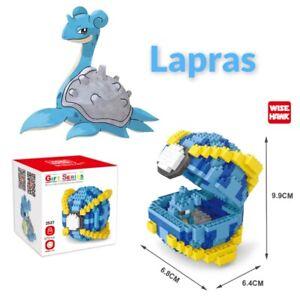 Nintendo Pokemon Lapras Pokeball 573pcs Nano Blocks