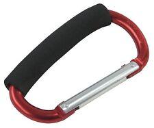 Jumbo Aluminium Carabiner Easy Grab Handle Spring Clip Karabiner Hook 135mm