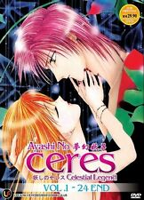 AYASHI NO CERES | Episodes 01-24 | English Subs | 2 DVDs (M0845)-LU