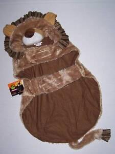 Plush Lion dog Costume Size Medium Halloween